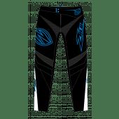 ZULU - YOUTH BMX PANT SHIELD BLUE WHITE