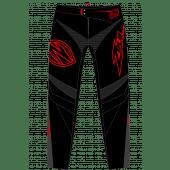 ZULU - YOUTH BMX PANT SHIELD RED