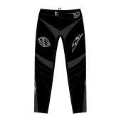 ZULU - YOUTH BMX PANT SHIELD BLACK WHITE